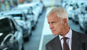 VW CEO Matthias Müller