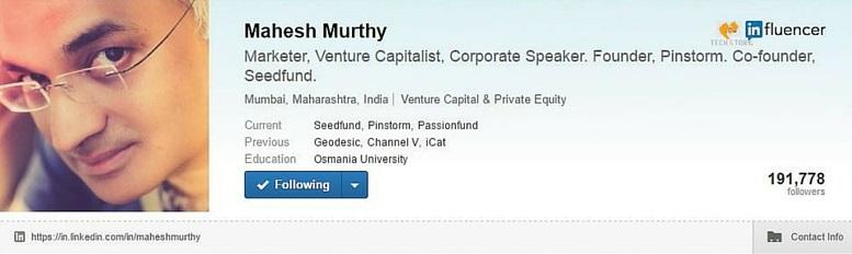 mahesh murthy influencer