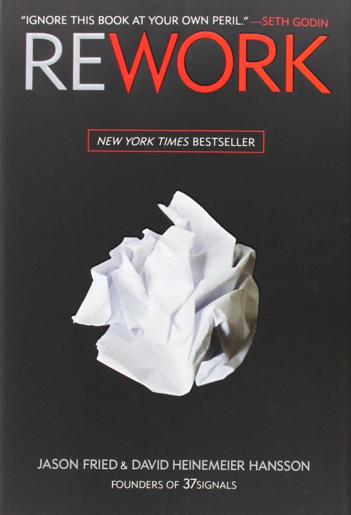 Jason Fried Books Rework