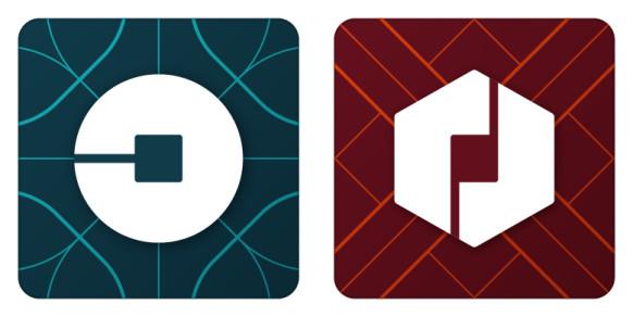 uber logos
