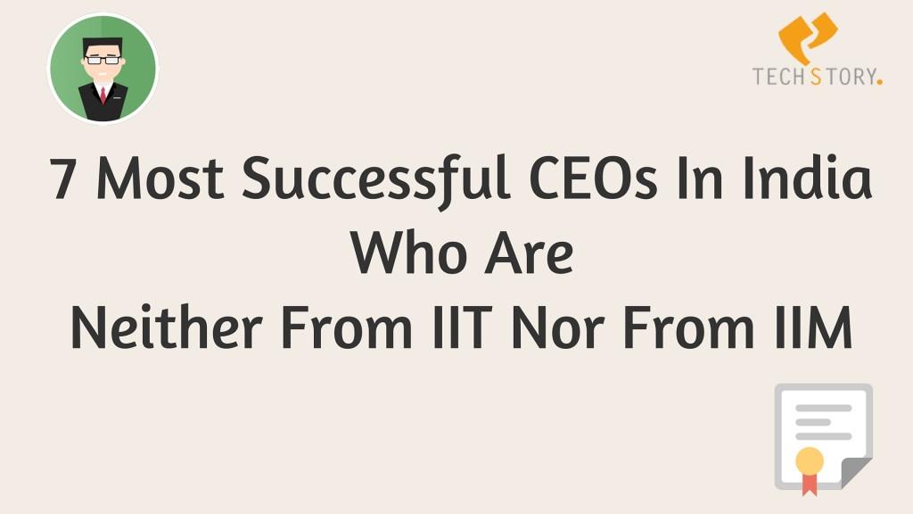 successful ceos in india