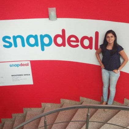 Q&A with :   Charu Malik, Head, Decision Science at Snapdeal