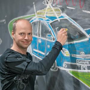 google driverless car Sebasttian-thrun