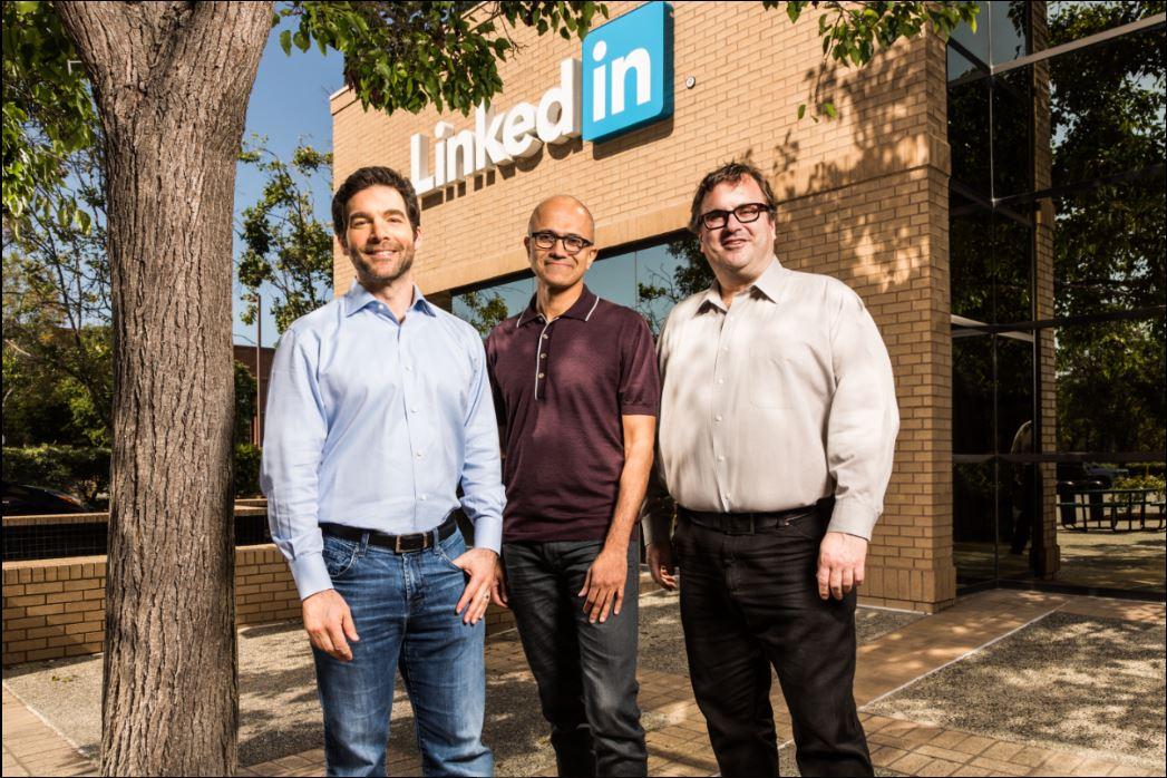 microsoft linkedin acquisition