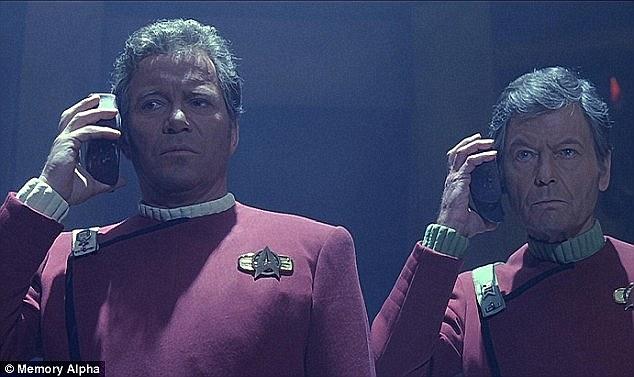 Captain Kirk making an alien translation
