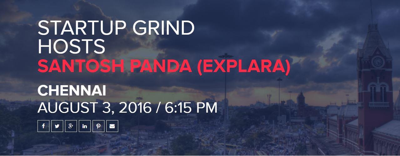 startup grind santosh panda