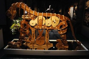 Da Vinci's Mechanical Lion