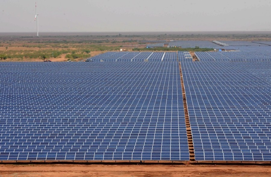 Solar Power plant at Charanka, Gujarat