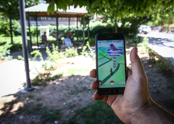 ANKARA, TURKEY - JULY 13 : A Pokemon Go user plays Pokemon GO game in Ankara, Turkey on July 13, 2016. (Photo by Erçin Top/Anadolu Agency/Getty Images)