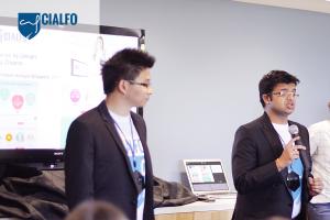 Cialfo Co-founders (R) Rohan Pasari & (L) Stanley Chia Dingli. Image : medium.com