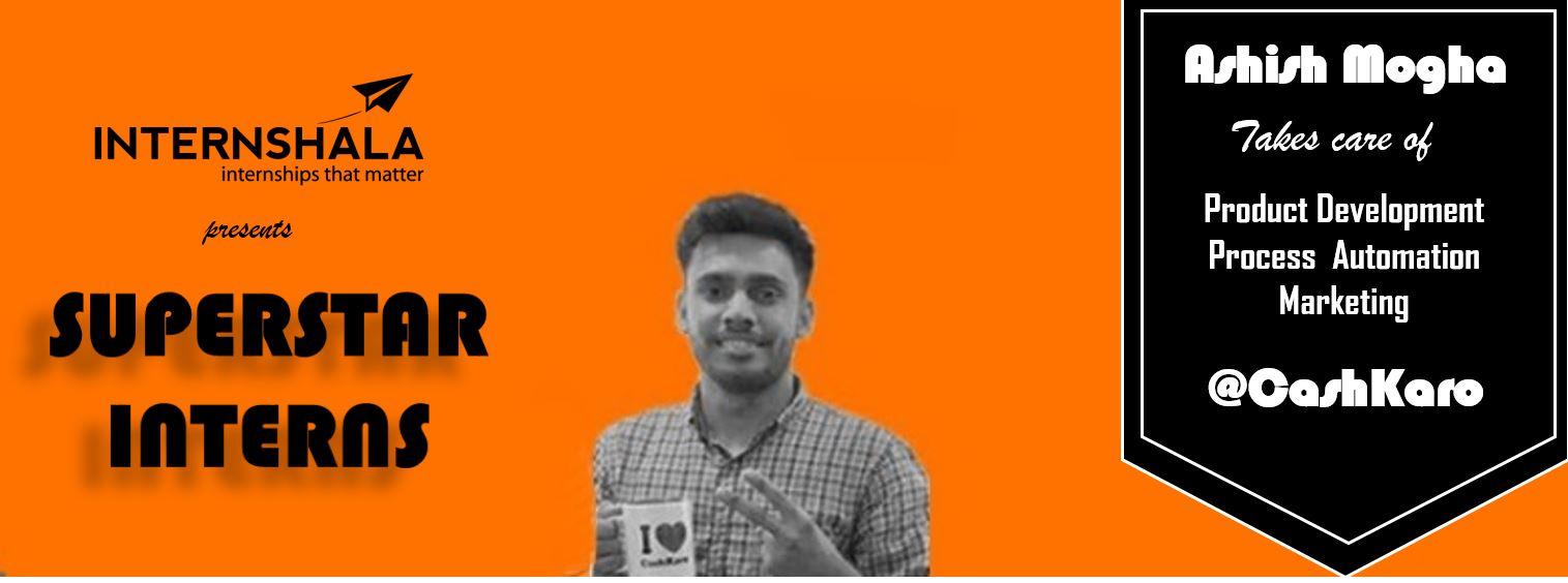 Aashish intern cashkaro
