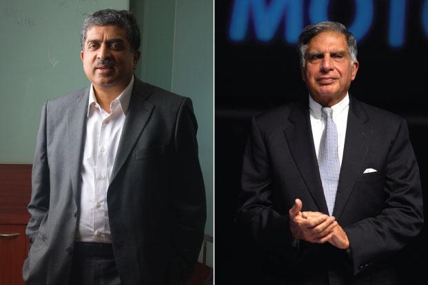 Ratan Tata, Nandan Nilekani