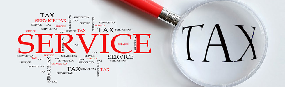 online registration service tax