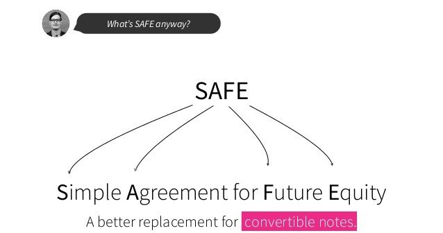 SAFE startup funding