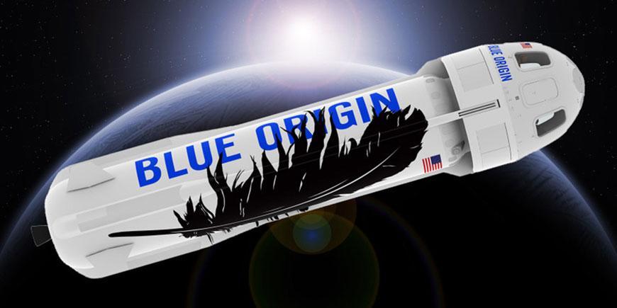 space tech blueorigin