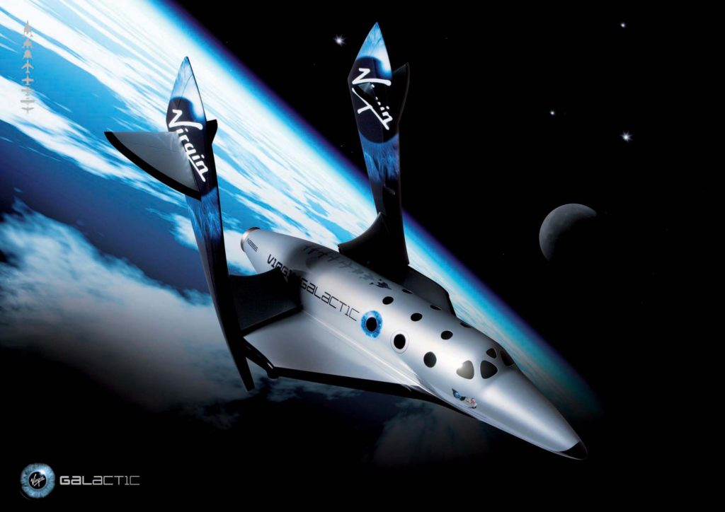 space tech virgin galactic