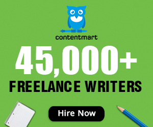 Contentmart - Hire freelance content writers