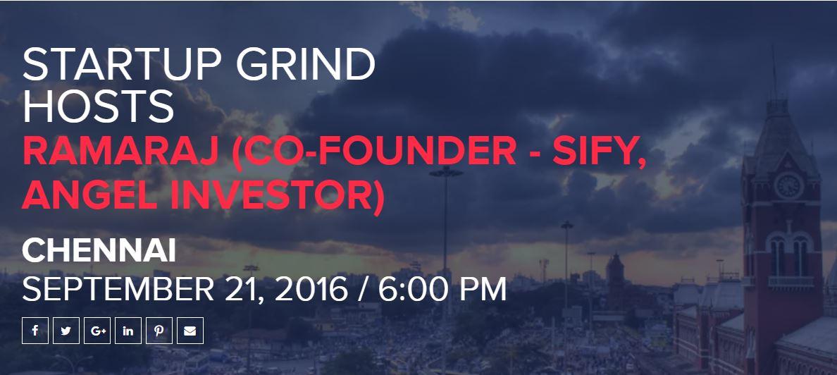 startup grind ramaraj
