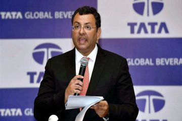 Kolkata: Cyrus P.Mistry, Chairman of Tata Global Beverages addresses company share holders during its 53rd Annual General Meeting in Kolkata on Wednesday. PTI Photo by Swapan Mahapatra(PTI8_24_2016_000088A)