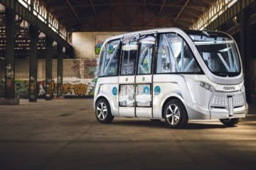 driverless shuttle lyon
