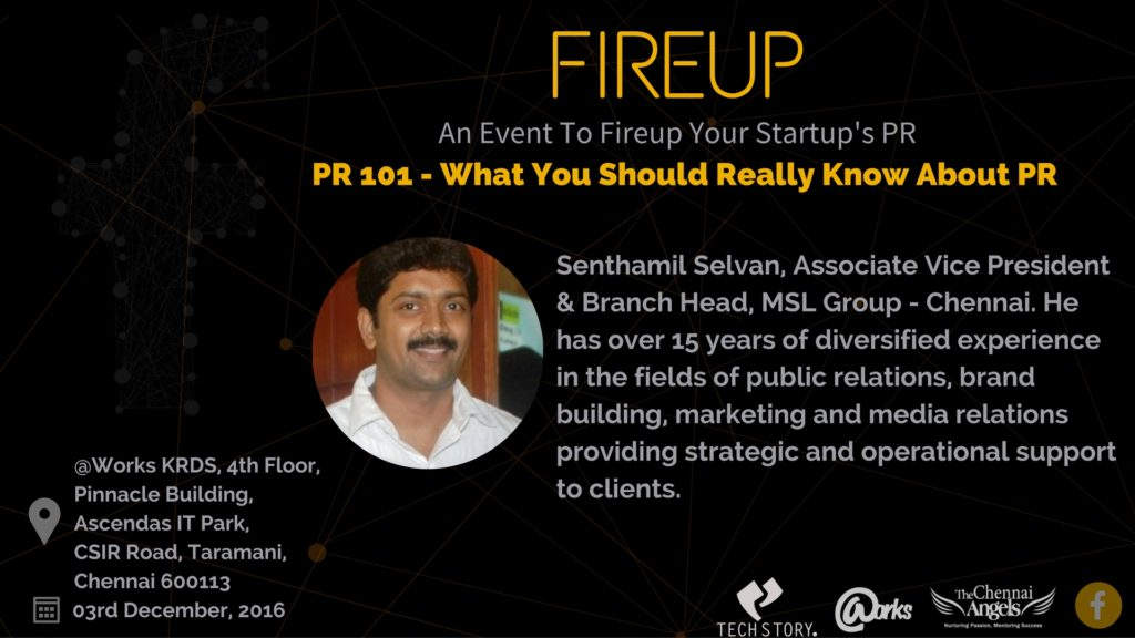 chennai fireup saturday