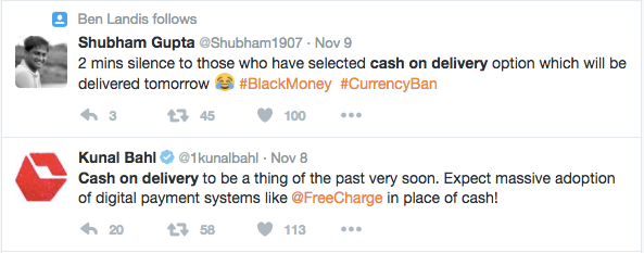 cash-on-delivery-restriction-twitter-kunal