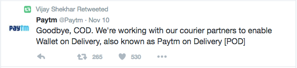 cash-on-delivery-restriction-twitter-paytm