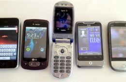 vintage smartphones