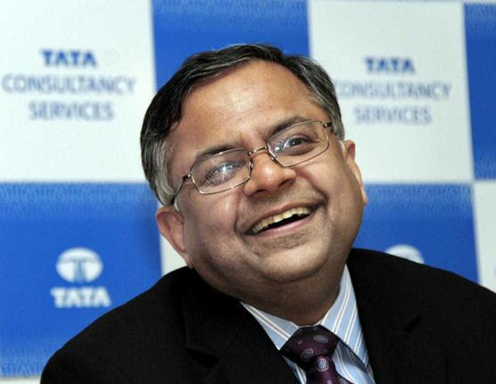 N Chandrasekaran tata sons