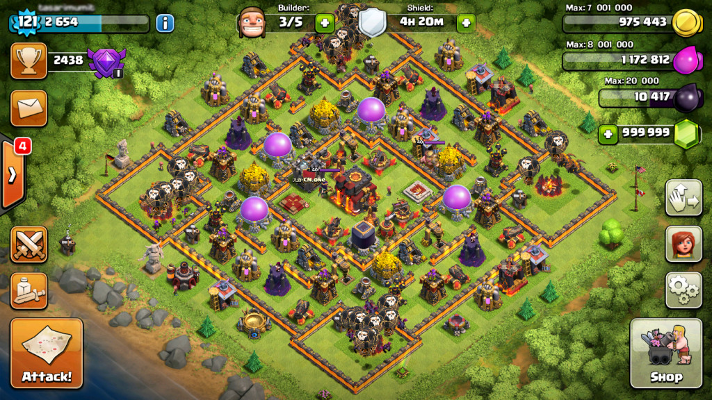 clash of clans mod hacker