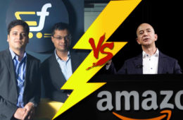 flipkart vs amazon 2017