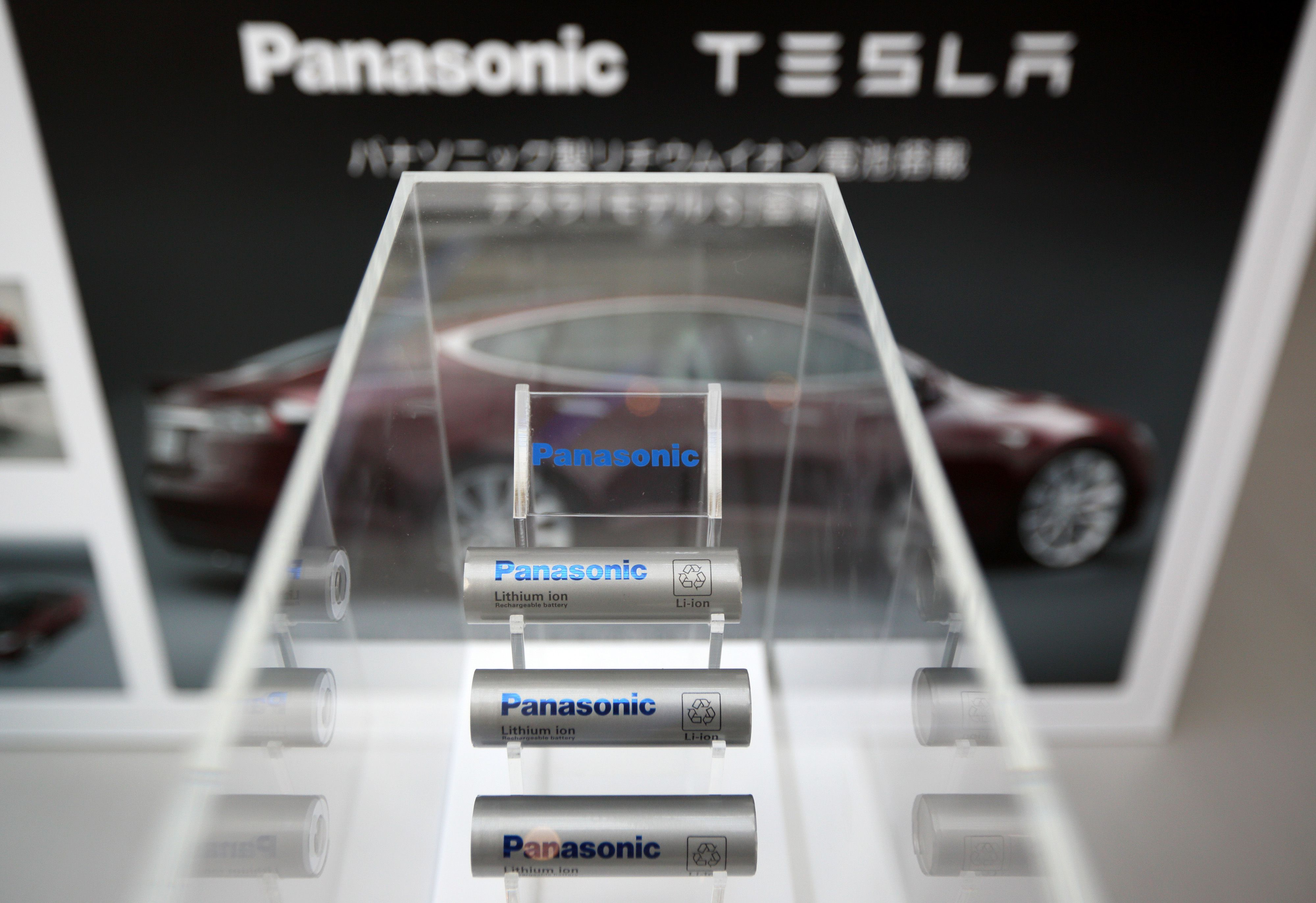Panasonic tesla partnership