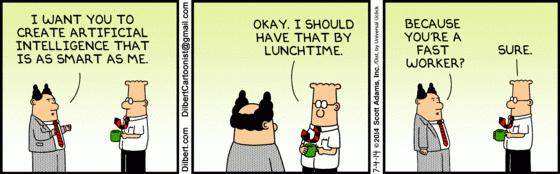 artificial intelligence 101 dilbert