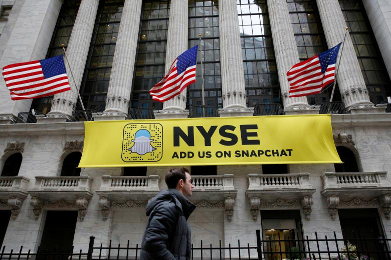 snap ipo trial run