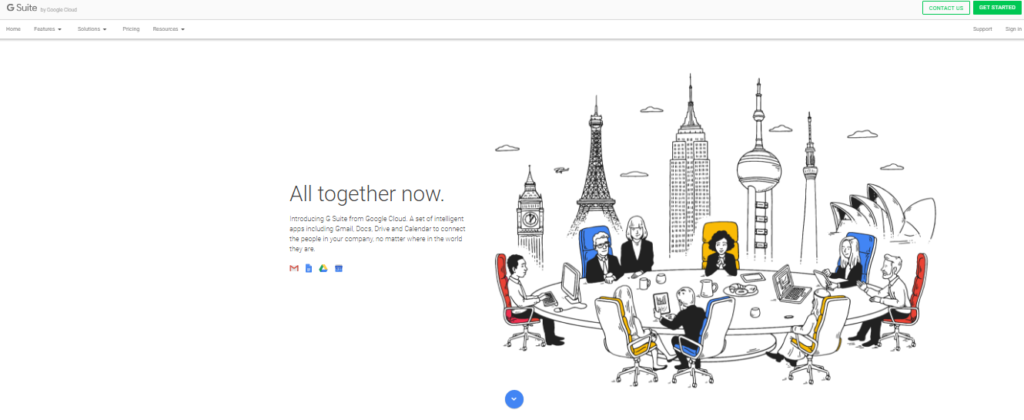 collaboration tools g suite