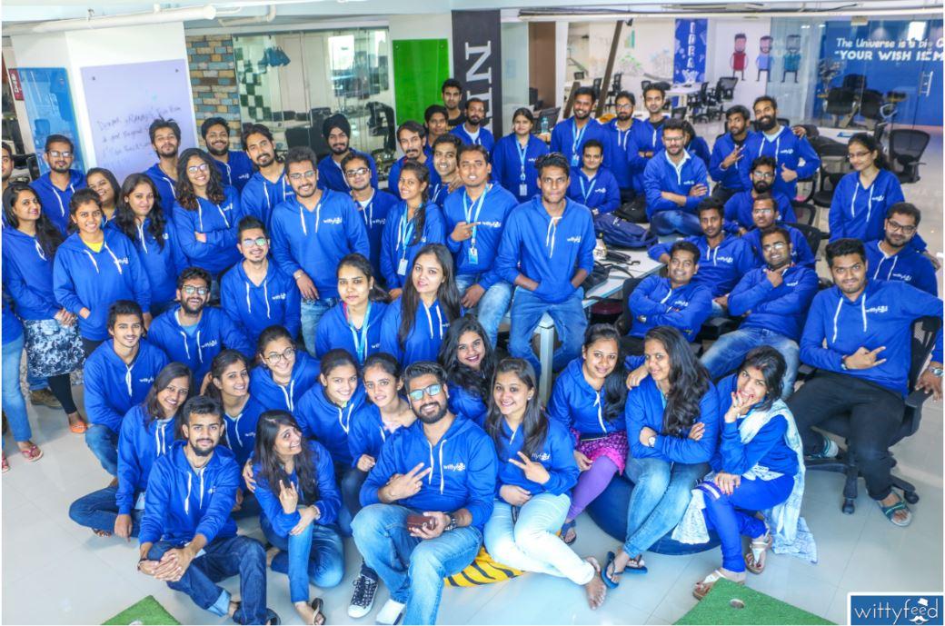 vinay singhal wittyfeed team