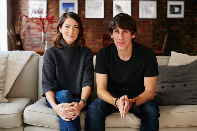 Powerful tech couples Dennis Crowley and Chelsa Crowley