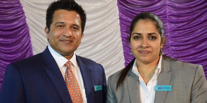 Powerful tech couples Pranav and Dr. Priyanka Mokshmar