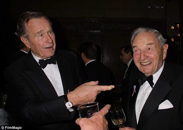 Legendary banker David Rockefeller dies at 101