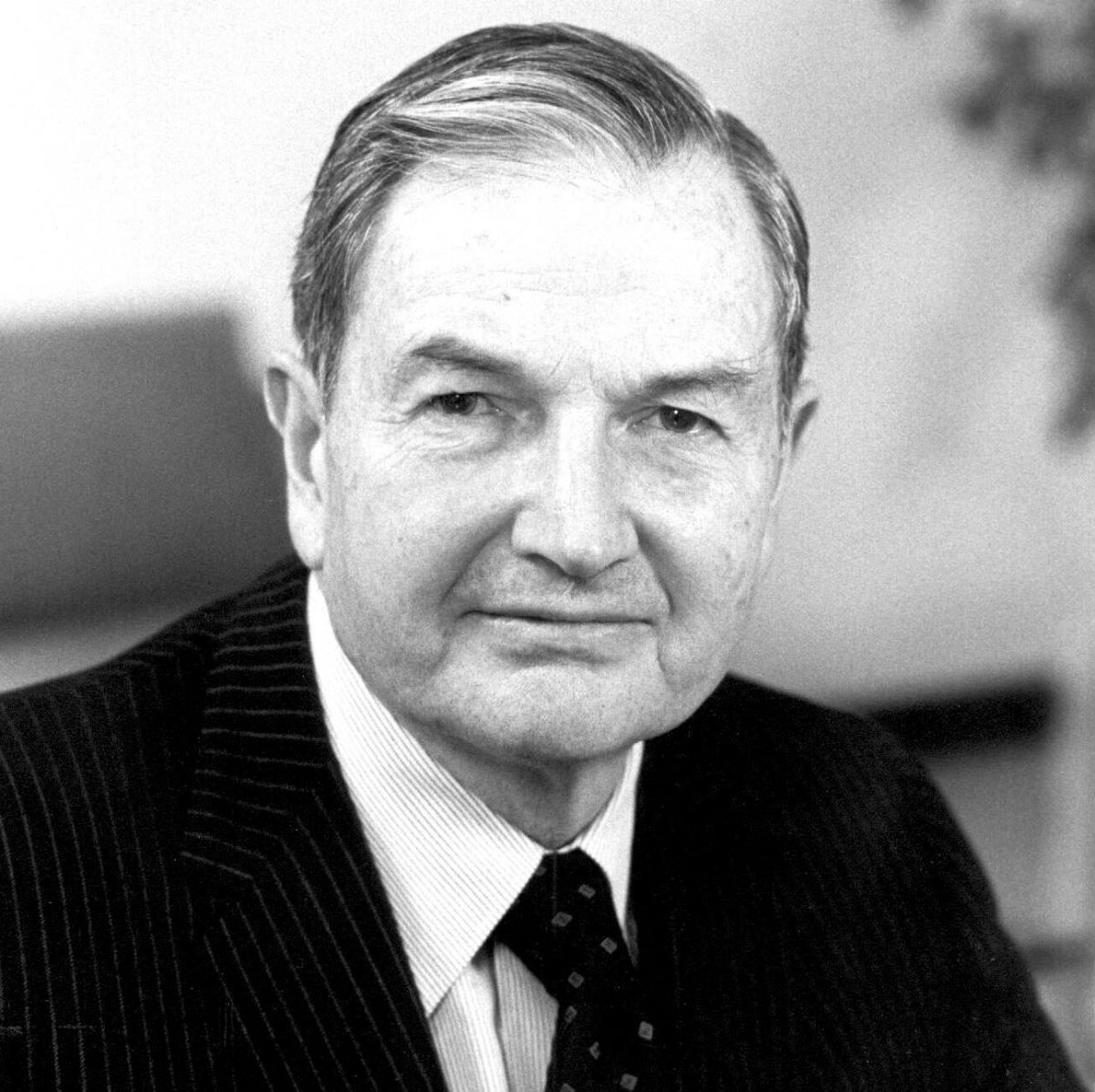 Banker and philanthropist David Rockefeller dies at 101