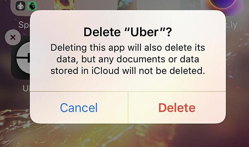 uber story delete uber