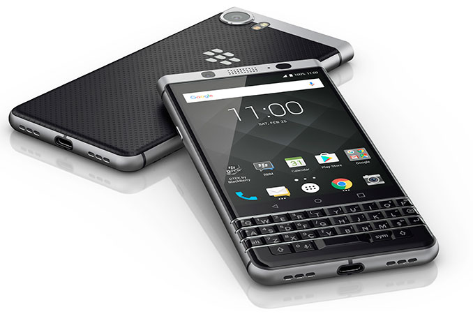 mobile world congress 2017 blackberry keyone