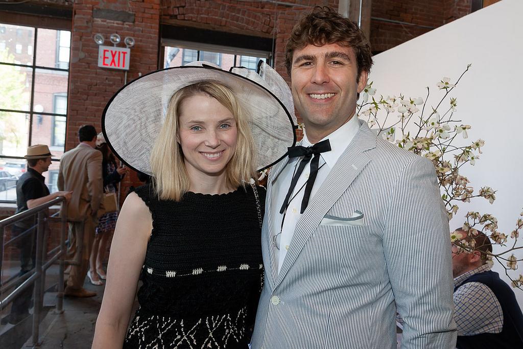 powerful tech couples mariisa mayer zach bogue
