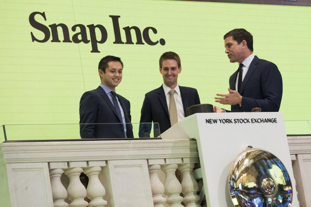 snap shares surge