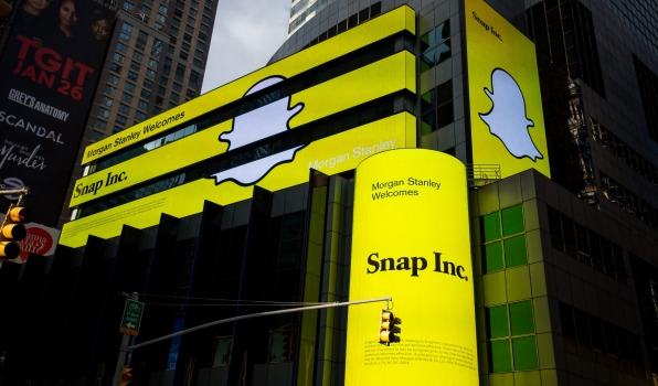 Snapchat Snags its first buy rating