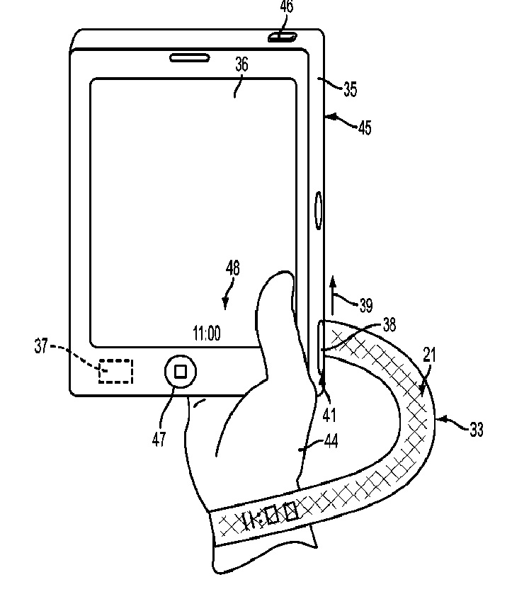 apple patent woven display