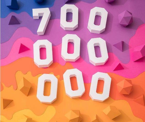 Instagram reaches 700 million