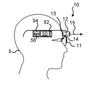 device control using eye movement patent