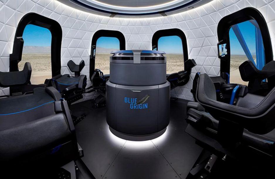blue origin space tourism