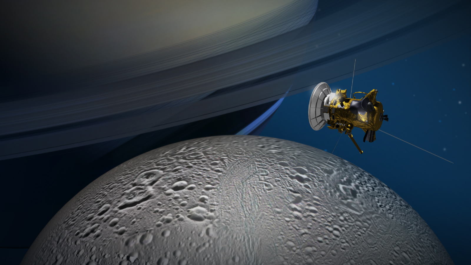 NASA's Cassini Dived Into The Gap Between Saturn And Its ...